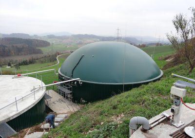 Emissionskontrolle Biogas