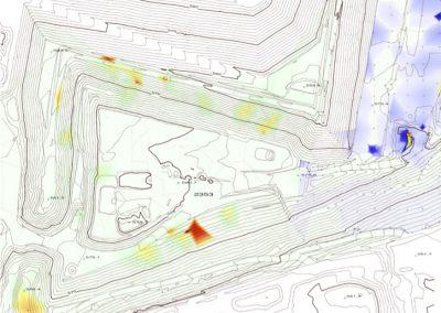 Visualisierung Gasemissionen Deponie